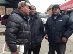 Three of the good Samaritans (via CBS)